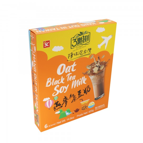 3:15pm Milk Tea – Oat Black Tea Soy Milk (6 bags)