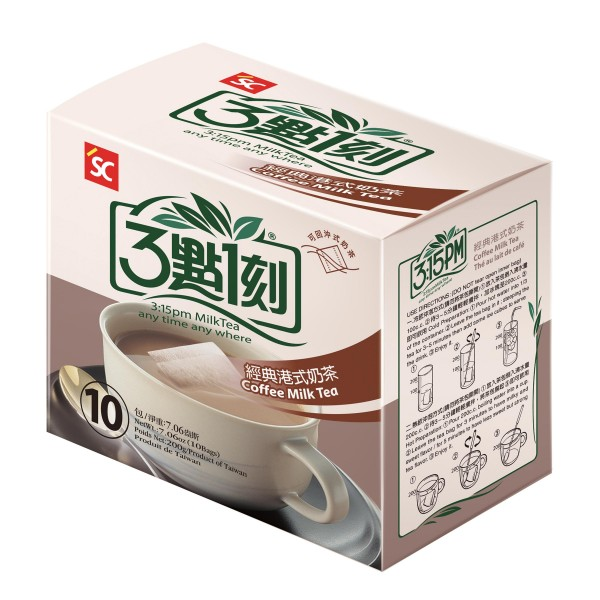 3:15pm Milk Tea – Coffee Flavor (10 bags)