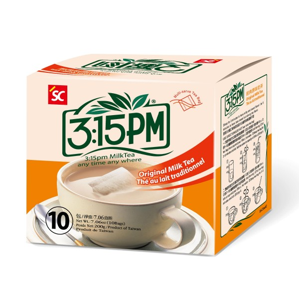 3:15pm Milk Tea – Original Flavor (10 bags)